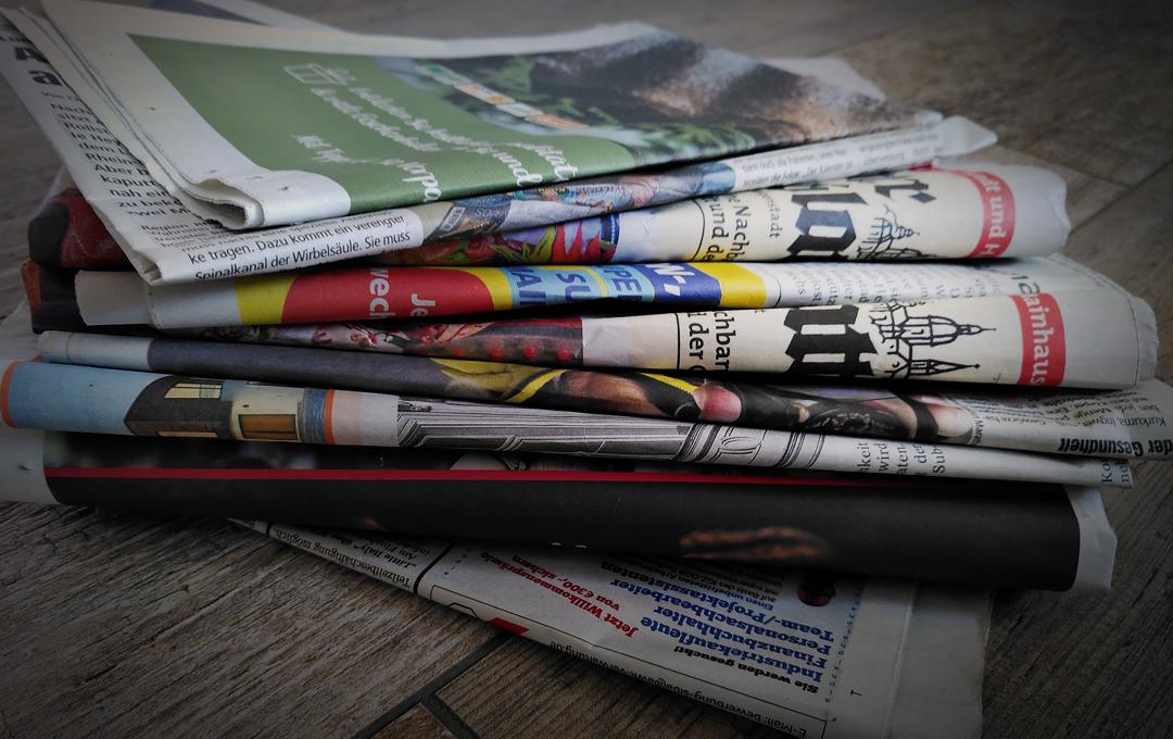 Die gute alte Zeitung