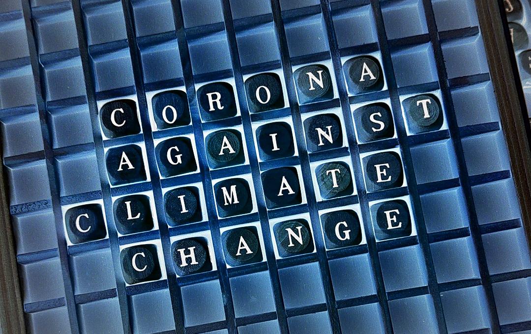 Corona against climate change