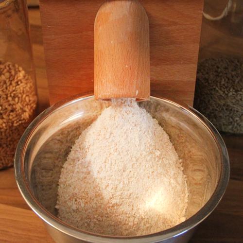 Dinkel, Salz und Gewürze